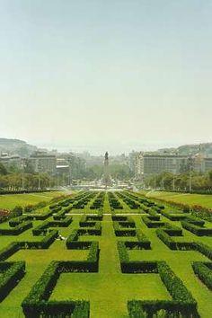 Parque Eduardo VII,  Lisboa  Portugal