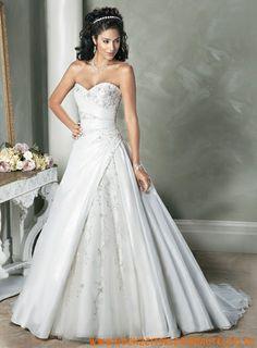 Einfache Ballkleid Stil Schöne Hochzeitskleid