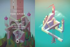 Beatiful game Monument Valley with The spire for free!