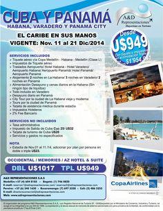 Cuba y Panamá http://www.adrepresentaciones.com/