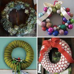 40 DIY wreaths
