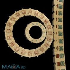 Maya Calendar 3D
