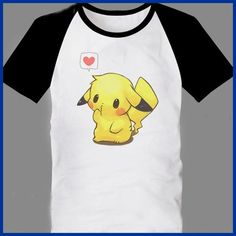 2012 Fashion Pokemon Pikachu T Shirts For Men New Popular O Neck... ❤ liked on Polyvore featuring mens, men's clothing, men's shirts, men's t-shirts, shirts, pokemon, men and tops