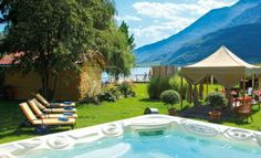 The breathtaking panoramic view on Lake Caldaro from our hotel pool contributes to relax and provides memorable moments