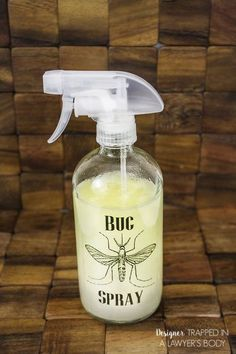 diy all natural bug spray, go green, pest control