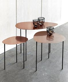 Min Table Trio - Copper