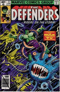 Defenders 1972 1st Series 72  June 1979 Issue  by ViewObscura