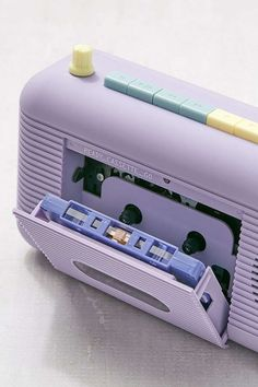 Shop UO_TUNE_IN Bluetooth Cassette Boombox at Urban Outfitters today. We carry all the latest styles, colors and brands for you to choose from right here. Lavender Aesthetic, Purple Aesthetic, Aesthetic Rooms, Aesthetic Vintage, Aesthetic Objects, Boombox, Retro Vintage, Accessoires Iphone, Pastel Purple