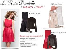 Tendance Robe dentelle / http://www.nafnaf.com/fr/robe-dentelle-baby-doll.html  I need one of these, for all the weddings are coming