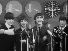 FIRST PRESS CONFERENCE! The Beatles Arrive at JFK airport New York for their first US performances