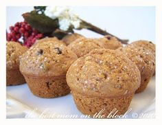 The Best Mom on the Block: Gingerbread Muffins