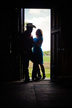 I love the back lighting in this engagement picture captured at The Cotton Mill in McKinney TX.