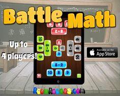 4 player math app! by RoomRecess.com