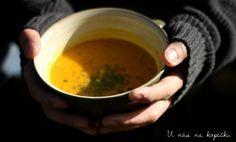 U nás na kopečku: Dýňová polévka
