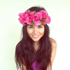 Flower Crown Headband Coachella Music by RazzleberryPuffett, $9.50