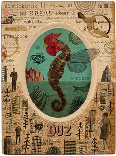 DUZ by M double U  Digital Collage, 2012