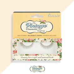 Create a soft and gentle look with our lashes 'Connie'..  💖 #Eyelashes   https://thevintagecosmeticcompany.com/shop/connie-false-eyelashes/