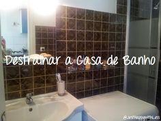 Just happy with less: Destralhar a casa - Casa de Banho