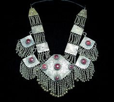 http://crafteast.com Tribal Kashmiri Necklace,Ethnic Necklace,Jewelry,Antique Necklace,Hippie, Festival, Belly Dance,Kuchi Necklace,Bohemian,Boho Chic,Gypsy Necklace