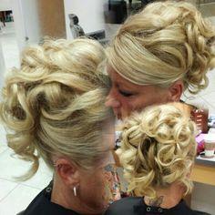 Wedding updo...love this one kinda like the one bobbie did