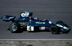 Patrick Depailler, Tyrrell 007-Ford.  Dutch Grand Prix, 23/06/1974, Zandvoort, Holland.