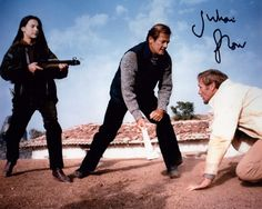 JULIAN GLOVER AUTOGRAPHED PHOTO BONDS FOR YOUR EYES ONLY
