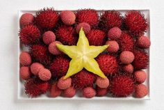 National flags made from foods: Viet Nam