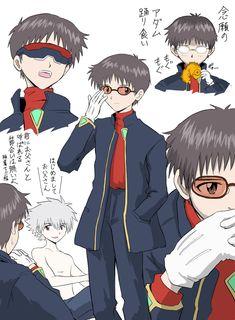 Neon Genesis Evangelion, Evangelion Shinji, Otaku, Rei Ayanami, Boku No Hero Academia, Wallpaper Pc, Anime Art, Illustration Art, Geek Stuff