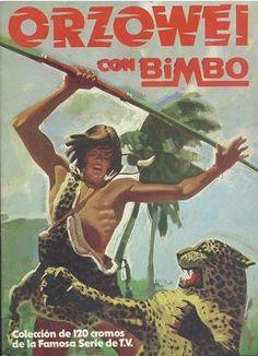 Álbum de cromos de Orzowei de Bimbo