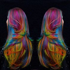 Fruity Pebbles - absolutely amazing! And this is the real hair!