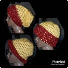 Gotta call it an early night. Retreat in the AM. But look what I just finished. $15 gets you this red and yellow beanie!  #hat #washington #football #forsale #crochet Yellow Beanie, Washington, Fashion Accessories, Crochet Hats, Football, Night, Red, Design, Knitting Hats