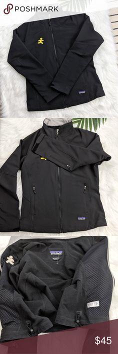 Patagonia jacket In euc jacket.running man aol logo. reflects the price. Patagonia Jackets & Coats