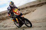 Cyril Despres rides Stage 8 of the 2013 Dakar
