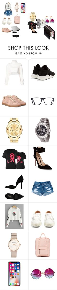 """""""my little sisters design"""" by msbrebre14 on Polyvore featuring Alexandre Vauthier, Y-3, Movado, Zenith, Gianvito Rossi, PrimaDonna, Aquazzura, ROSEFIELD, Madden Girl and Janis"""