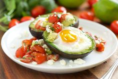 I finally took the plunge and tried Avocado Baked Eggs - I mean, you see them everywhere so they must be good right? Well... they are, and they will speak to you of lazy Sunday brunches with too many cups of coffee followed by a walk in the park, (or is this just me?)! And... because I can ...