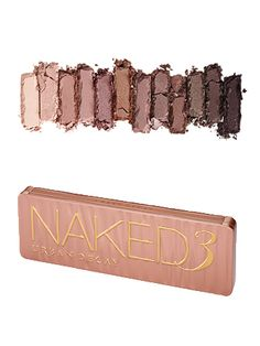 and the naked 3 palette is here