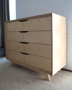 Related image Smart Furniture, Plywood Furniture, Modern Furniture, Plywood Projects, Mdf Plywood, Industrial Design Furniture, Furniture Design, Wood Shelves, Dresser