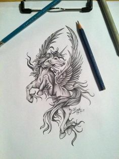"pegasus- this is ultimately the tattoo I want. Upper back, between the shoulder blades. ""Live Free"" will in there somewhere, too. Color? Or b/w?"