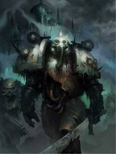 Nurgle Marines - The Death Guard of Mortarion. warhammer 40k