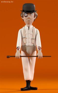 Pop Culture Toys by A Large Evil Corporation | Inspiration Grid | Design Inspiration