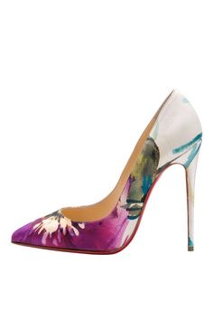 Christian Louboutin Fall 2014 .... hmm I think these look more like Spring/Summer than Fall....but whatever...they are gorgeous!