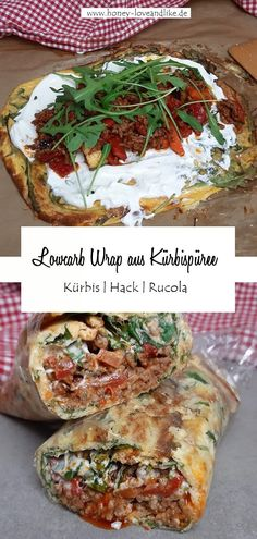Diseases Involving Proteins - Tricks of healthy life Low Carb Wraps, Pumpkin Puree, Arugula, Easy Dinner Recipes, Vegetable Pizza, Low Carb Recipes, Keto, Good Food, Low Carb Food