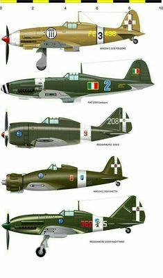 Итальянские  самолеты-истребители второй мировой  войны.