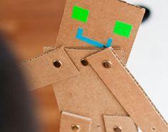 DIY CARDBOARD ROBOTS