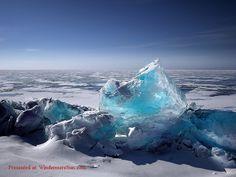 Blue Glacier Ice With Vast Ocean - Art Print Polo Norte, Ocean Canvas, Ocean Art, Lake Baikal Russia, Lago Moraine, Photography Tips, Landscape Photography, Digital Photography, Photography Courses