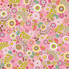 Shop the largest selection of scrapbooking supplies in the world. Get scrapbook paper, die cut machines, dies, stickers stamps and more. Scrapbooking, Scrapbook Supplies, Scrapbook Paper, Papel Vintage, Pretty Patterns, Floral Patterns, Textiles, Retro Flowers, Cute Pattern