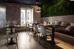 Sexto Restaurant by David Zafra, via Behance