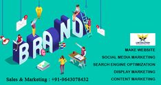 Effective digital marketing helps for businesses and learn how to present your business in online platform. #lobsolution #kichhaonline #digitalcompany #seocompany #webcompany #digitalmarketing #business #advertising #onlineplatform Digital Marketing Services, Sales And Marketing, Content Marketing, Social Media Marketing, Web Company, Custom Website Design, Best Web Design, Advertising, Platform