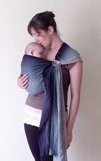 The Homestead Survival: How To Use A Ring Sling Baby Carrier - A wonderful tool in a disaster for a family with little ones