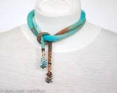 Resultado de imagem para felted jewelry